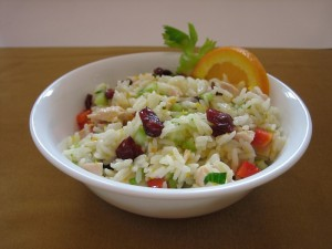 Fruity Chicken and Rice Salad